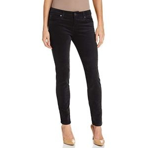 Kut from the Kloth Pants - Kut From The Kloth Diana Skinny Blk Corduroy Pants